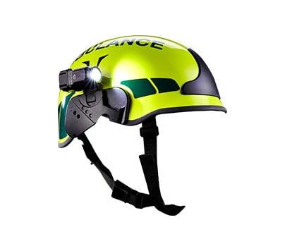 Venari UK's ambulance helmet for British paramedics