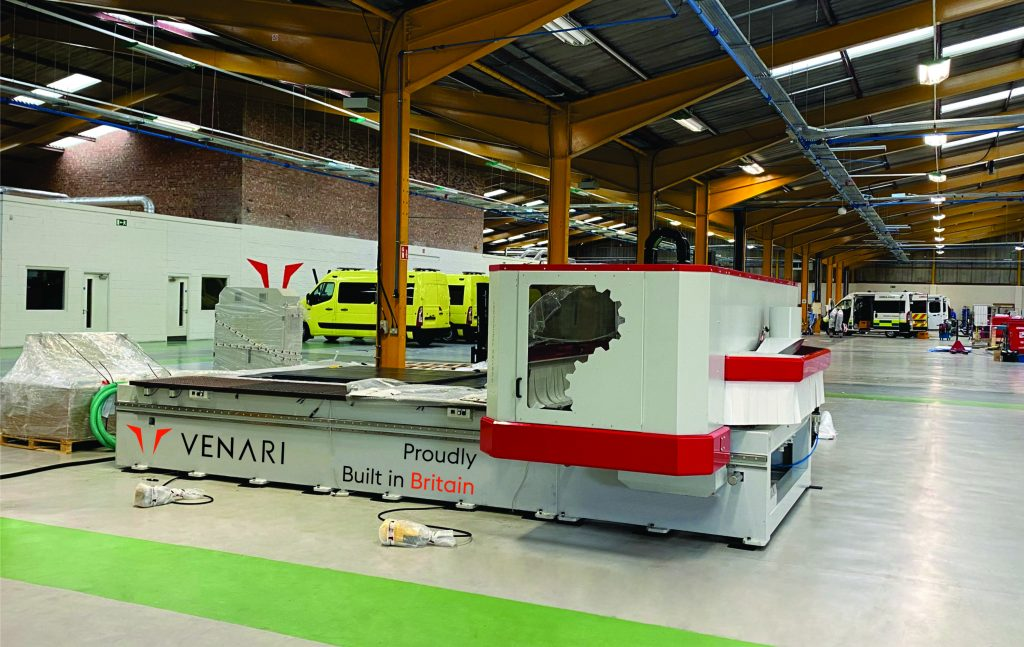 Venari Group invests in machinery to reduce costs and lead times