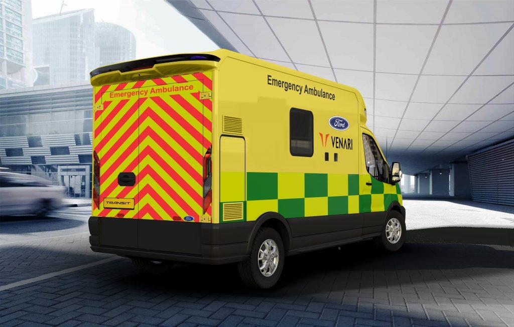 Ford venari ambulance; Ford Venari partnership