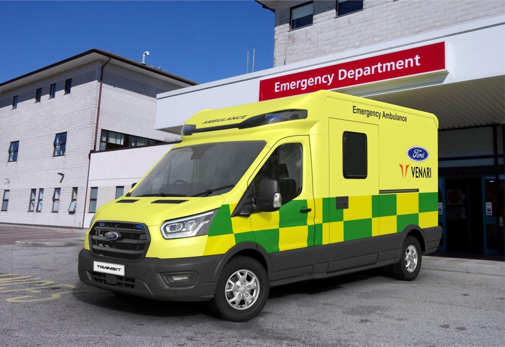 ford venari ambulance; ford venari