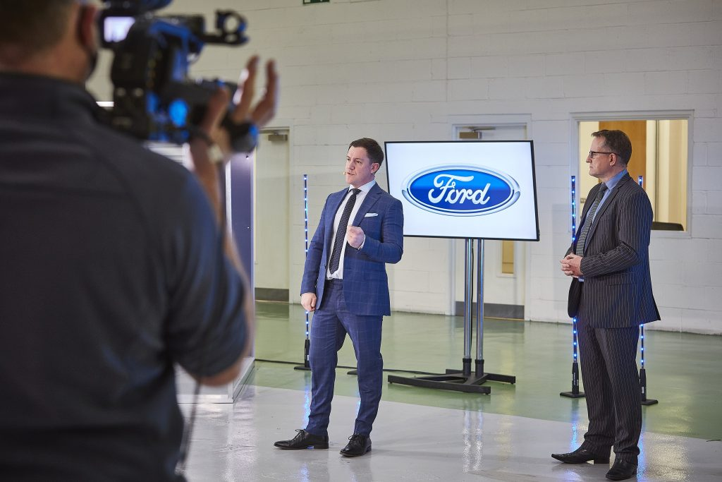 Venari Oliver North; Ford Chairman Dr Graham Hoare OBE